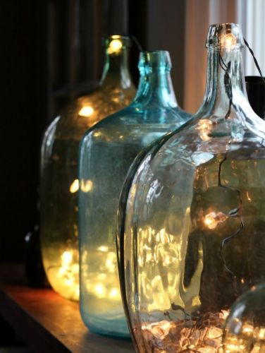 Bonbonnes en verre