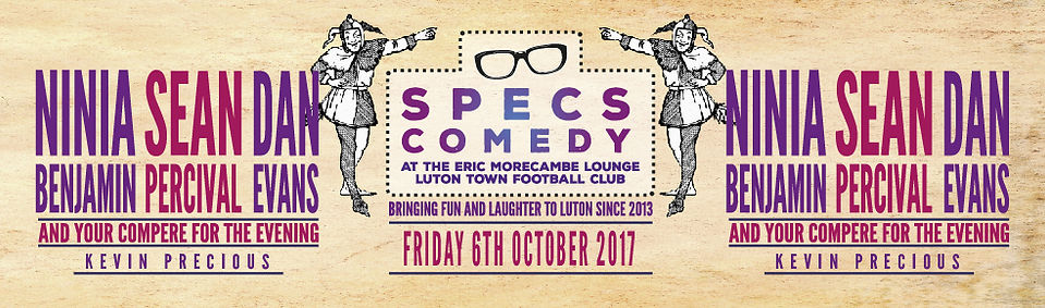 Specs Comedy - July 2017
