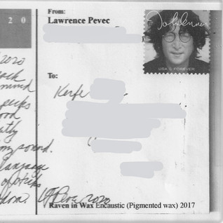 Raven in Wax / Lawrence Pevec