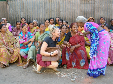These photos were taken on a trip to India.
