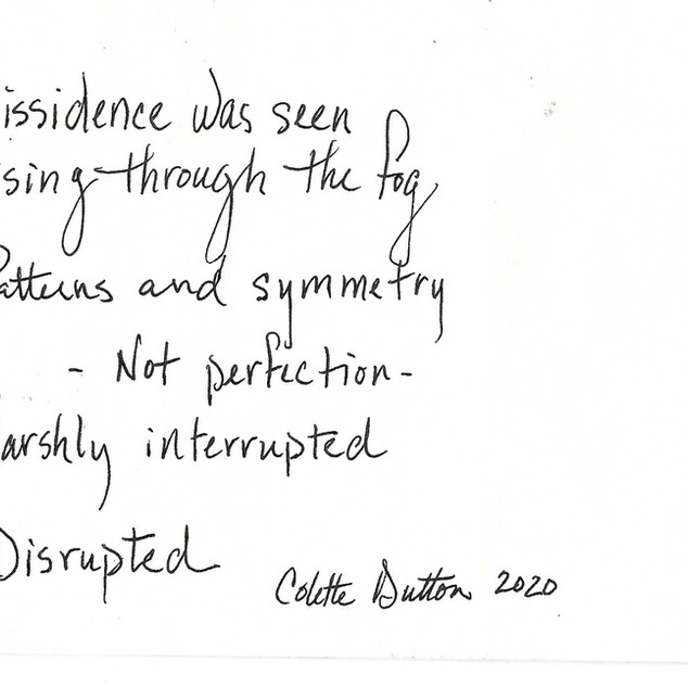 2 Disrupted/Colette Dutton