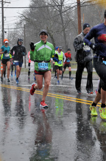 Dr. Laura-- in the Boston Marathon