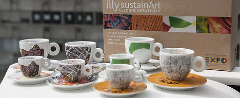 tazas illy art collection severin