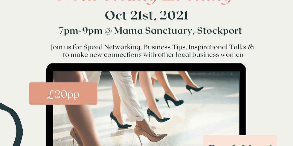 21st Oct - Women in Business Networking Evening
