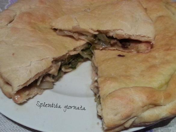 """""""Splendide ricette amiche"""": Pizza di Scarola"""