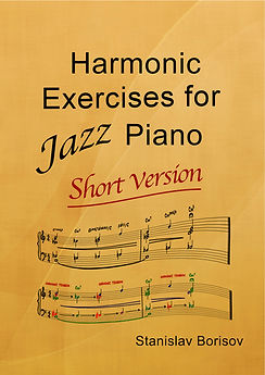 Harmonic Exercises for Jazz Piano-short
