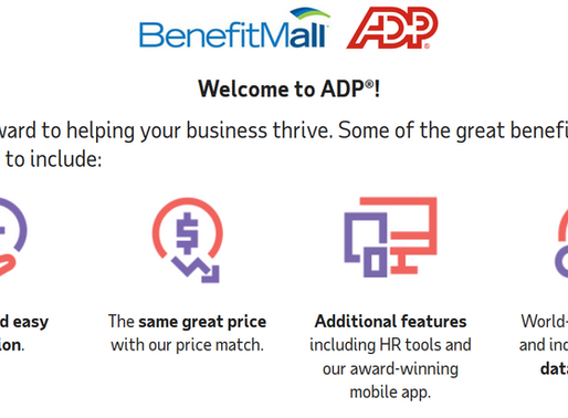 BenefitMall Transition to ADP