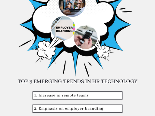 Top 3 Emerging Trends in HR
