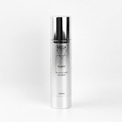 Purify- 2% Lactic Acid Cleanser 100mL