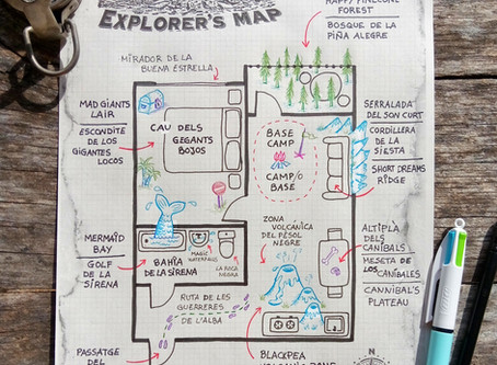 The Big Inside World :: The Explorers' Map