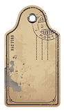 Étiquette de bagage