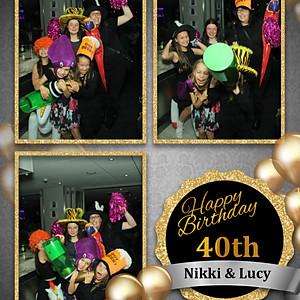 Nikki's & Lucy's 40th Birthday
