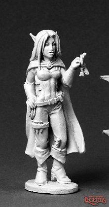 Reaper 03566, VALLOA, FEMALE ELF THIEF, Dark Heaven Legends