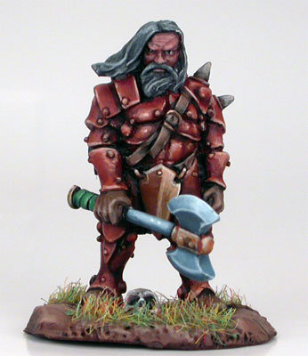 Male Dwarven Fighter With Weapon Assortment - DSM7203