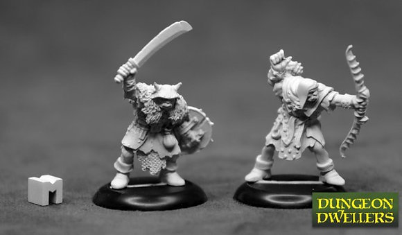 Reaper 07013, DUNGEON DWELLERS: ORC RAIDERS (2), REAPER DUNGEON DWELLERS