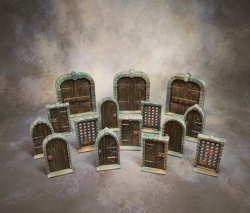 Terrain crate : Dungeon Doors