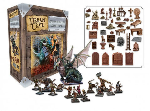 Terrain Crate Games masters Starterset by Mantic