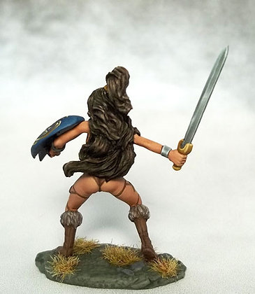 Amazon Warrior with Sword and Shield - DSM1171