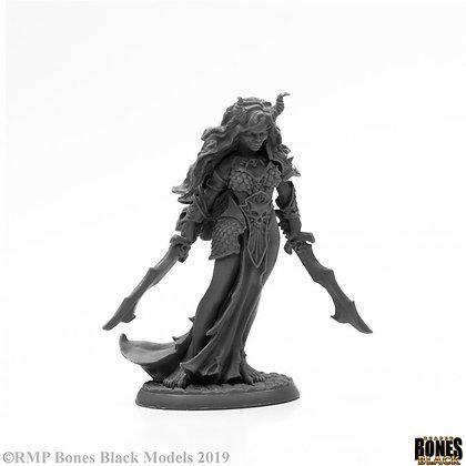 Reaper 44003, BONES BLACK: ZIBA, FEMALE EFREETI, BONES BLACK