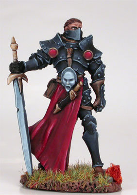 Male Warrior With Weapon Assortment - DSM7202