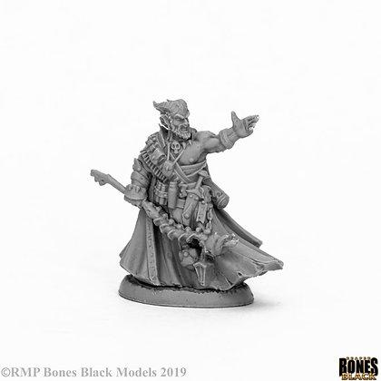 Reaper 44052,VATANIS, MAGGOTCROWN WARLOCK, BONES BLACK