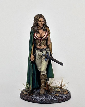 Female Rogue with Long Sword -DSM1232