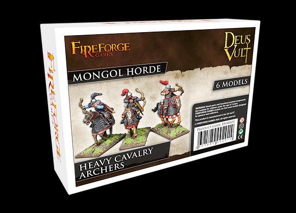 Mongole - Archers lourds montés