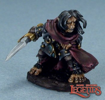 Reaper 03071, HELLAKIN GOREGUTTER, HALFLING THIEF, Dark Heaven Legends