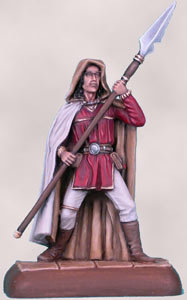 Male Fighter with Spear - DSM2112