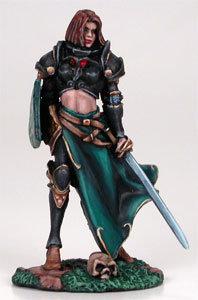 Female Cavalier with Sword/Shield - DSM7206