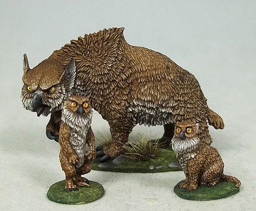 Owlbear and Cubs - DSM4634