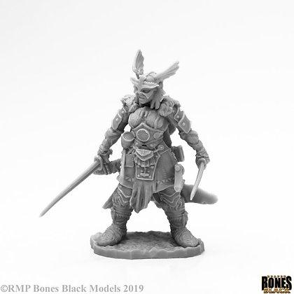 Reaper 44123, FROST GIANT HEROINE, BONES BLACK