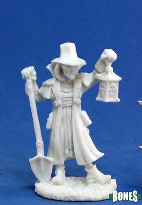 Reaper 77143, TOWNSFOLK: UNDERTAKER, REAPER BONES