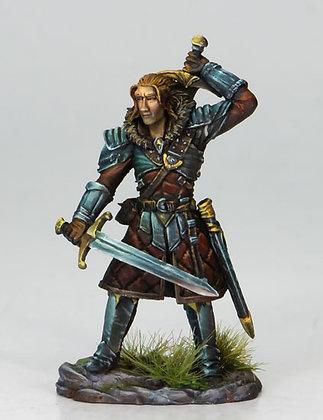 Dual Wield Warrior with Swords - DSM7109