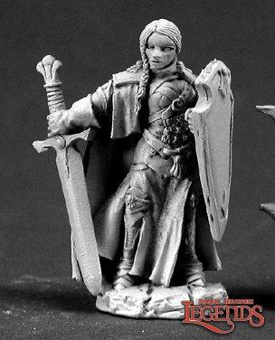 Reaper 03364, ISABEAU LAROCHE, FEMALE PALADIN, Dark Heaven Legend