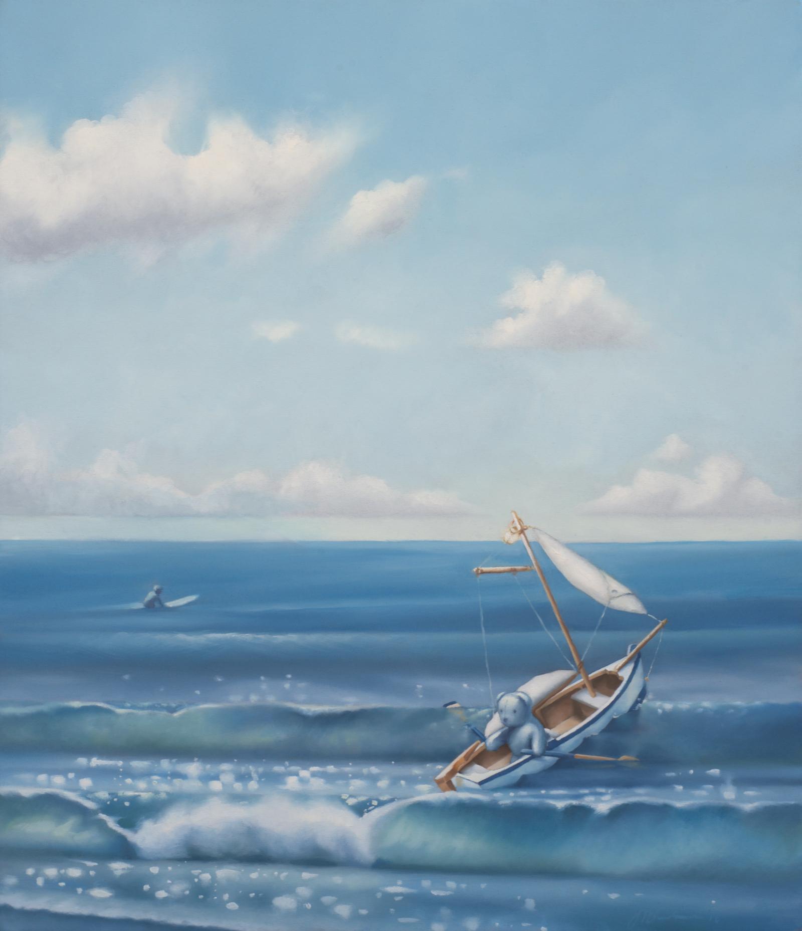 Blue Bear Goes to Sea