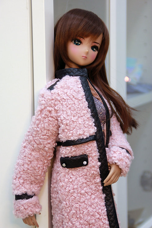 Fur coatt for Smart Doll, 1/3, BJD SD13