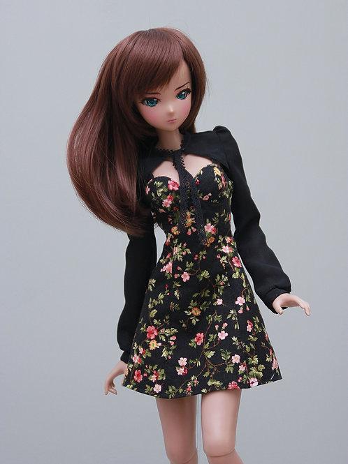 Dress with Bolero black for Smart Doll, 1/3, BJD SD13