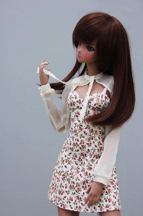 Dress with Bolero beige for Smart Doll, 1/3, BJD SD13