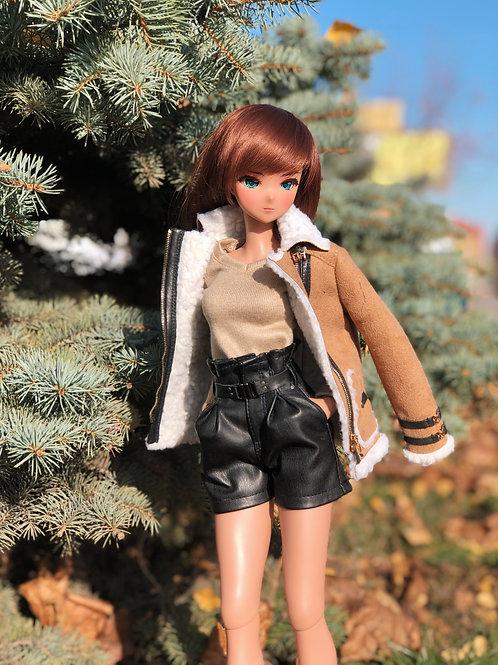 Sheepskin coat for Smart Doll, 1/3, BJD SD13