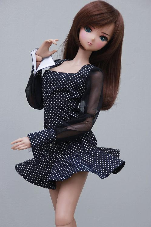 Dress, (black) for Smart Doll, 1/3, BJD SD13