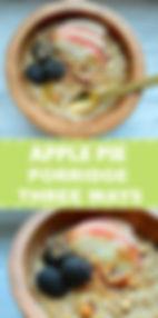 PALEOinheels | Apple Pie Porridge Three Ways. Gluten & Dairy Free
