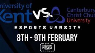 UKC Gamers triumph at ESports Varsity