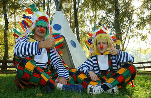Everything is fine now that the Clown Posse are here