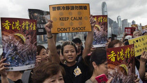 Is it right for the University of Kent to repatriate students from Hong Kong?