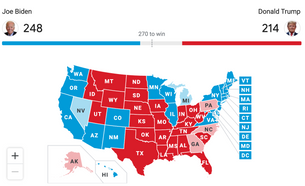 The American Political Nightmare: an uncertain election hangs in the air