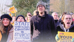 Working Conditions, Pay Gaps: University of Kent Staff on Strike