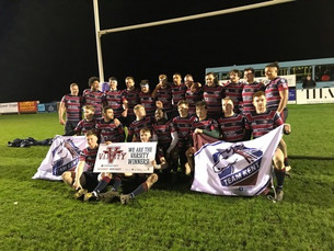 Men's Rugby smash CCCU in 36-0 whitewash