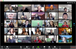 An ode to Zoom Video Conferencing