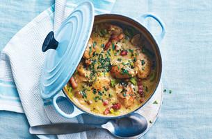 Garlic chicken casserole recipe